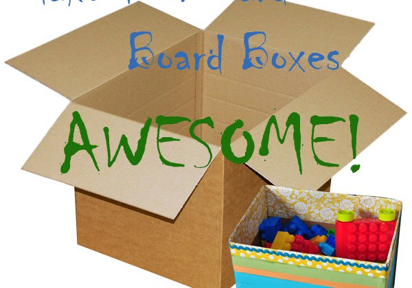 Caja Carton - Tutoriales para Manualidades