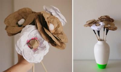 DIY hacer flores de papel craft