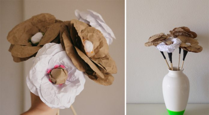 DIY hacer flores de papel craft