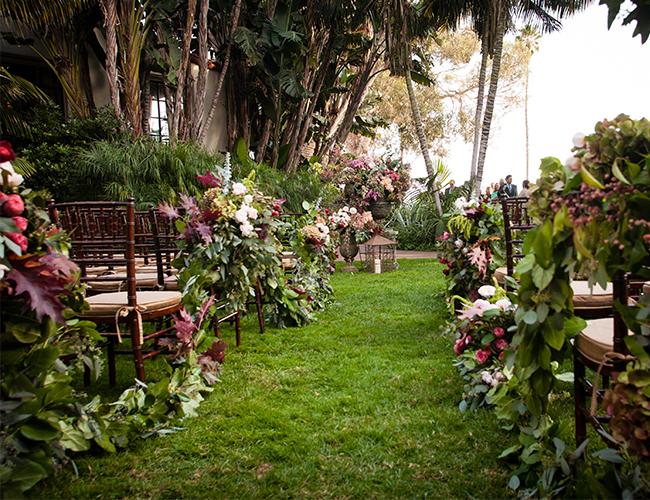 Decoracion de Sillas Boda Jardin