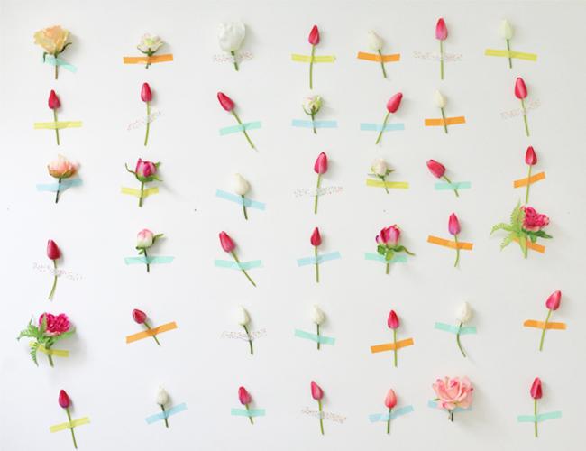 FloresDecoracionPared