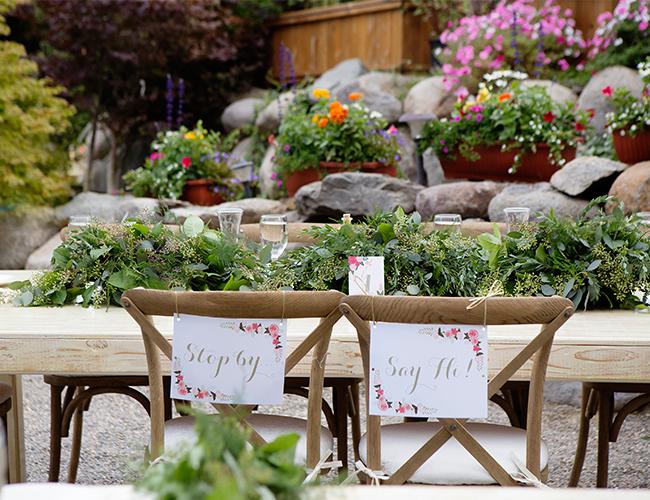 ideas para decorar el jardín el día de tu boda - tutoriales para